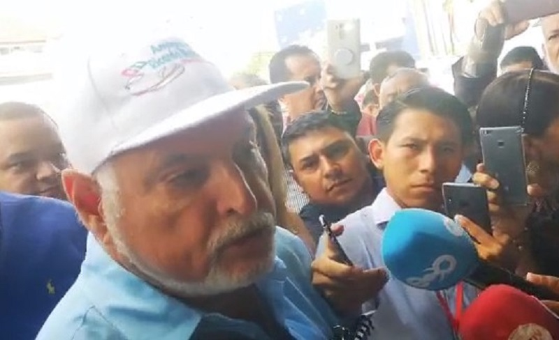 Fiscalía solicita al Imelcf evaluación psiquiátrica a expresidente Martinelli