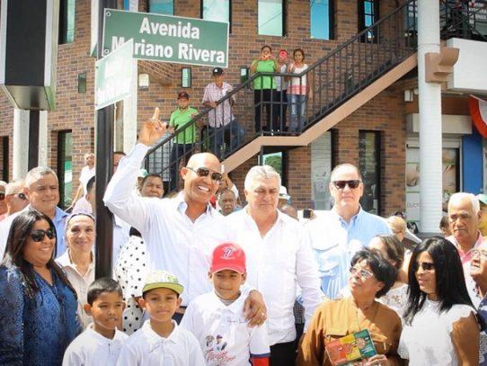 "Inauguran avenida ""Mariano Rivera"" en La Chorrera"