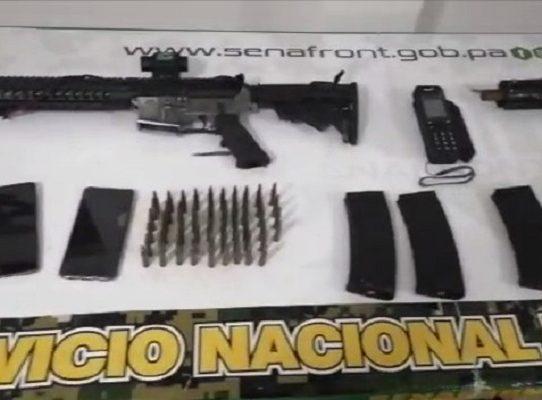 Senafront ubica campamento con armamento en Guna Yala