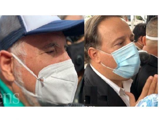 Fiscales prohíben salida del país a expresidentes Martinelli y Varela