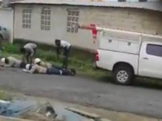 Menor de 17 años es capturado por robo a trabajadores de ENSA