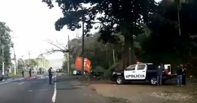 Un muerto y varios lesionados tras aparatoso accidente en Panamá Norte
