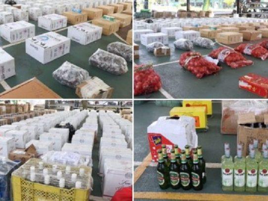 Decomisan mercancía de contrabando valorada en más de $197 mil en Darién