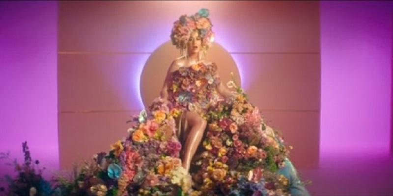 La cantante Katy Perry revela que está embarazada en su último videoclip
