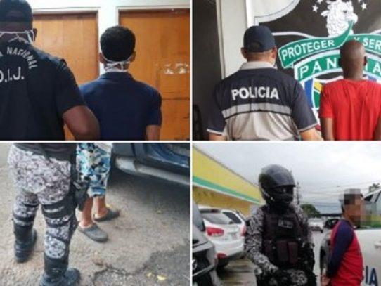 Aumenta número de retenidos en toque de queda en Panamá