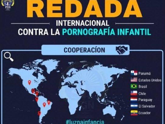 Ministerio Público desmanteló red de pornografía infantil en Panamá