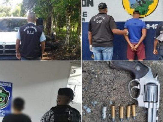 Al menos  107 aprehendidos durante operativos policiales en el país