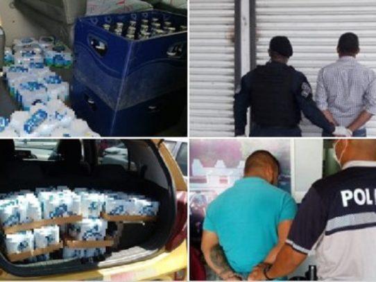 """Pensaban burlar a las autoridades, llevaban 24 cajas de cerveza durante """"Ley Seca"""""""