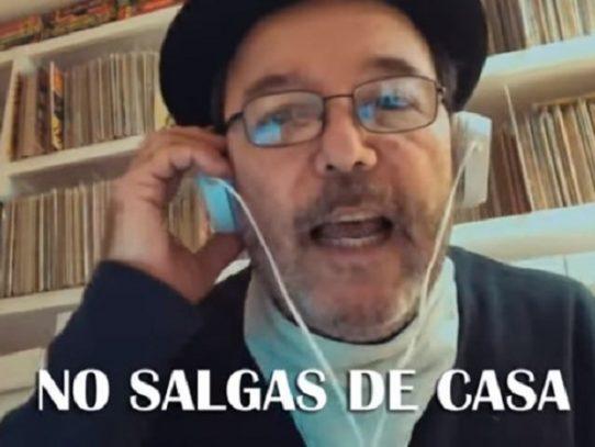 """Rubén Blades estrena """"Para Panamá"""", una patria que """"necesita ayuda"""""""