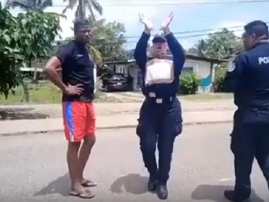 Cruce de acusaciones en zona policial de Bocas del Toro