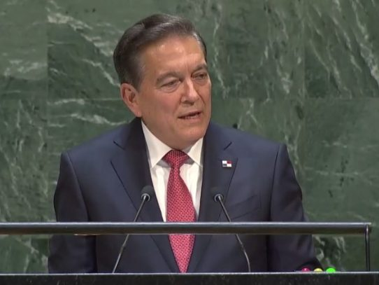 ONU: Cortizo invita a los líderes del mundo a educar a los niños
