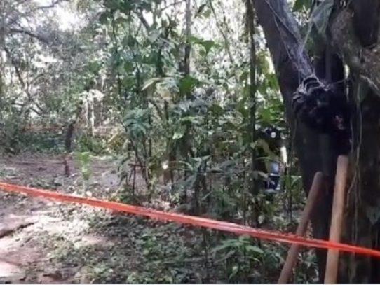 No hay restos humanos en fosas entre la Unachi y Hospital Regional de Chiriquí