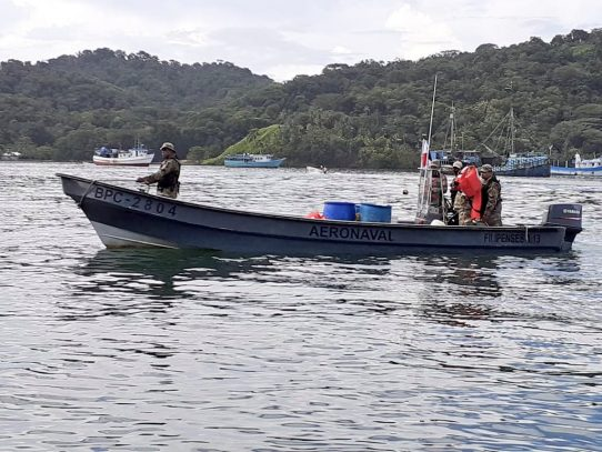 El SENAN intensifica patrullajes en la costa arriba de Colón
