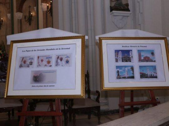 Correos de Panamá lanzan sellos conmemorativos a la JMJ 2019