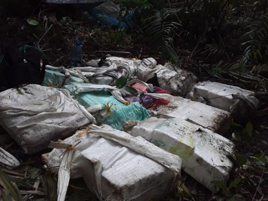 Senafront decomisa sustancia ilícita en Panamá Este