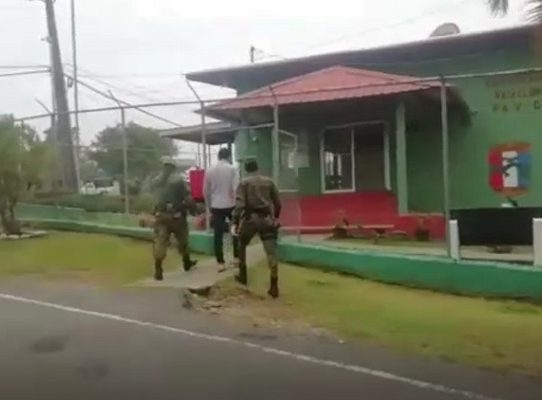 Senafront detiene en Chiriquí a un hombre por violar cuarentena por covid-19