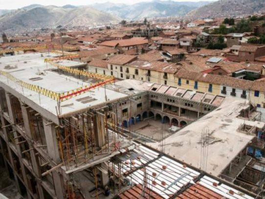 Justicia ordena demoler hotel Sheraton por destruir muros incas en Perú