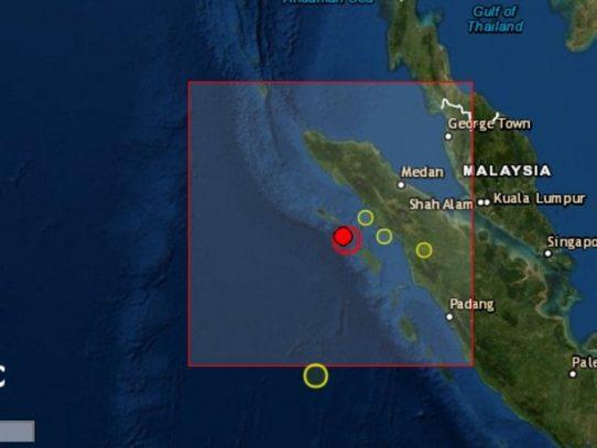 Un terremoto de magnitud 6,2 sacude el noroeste de Indonesia