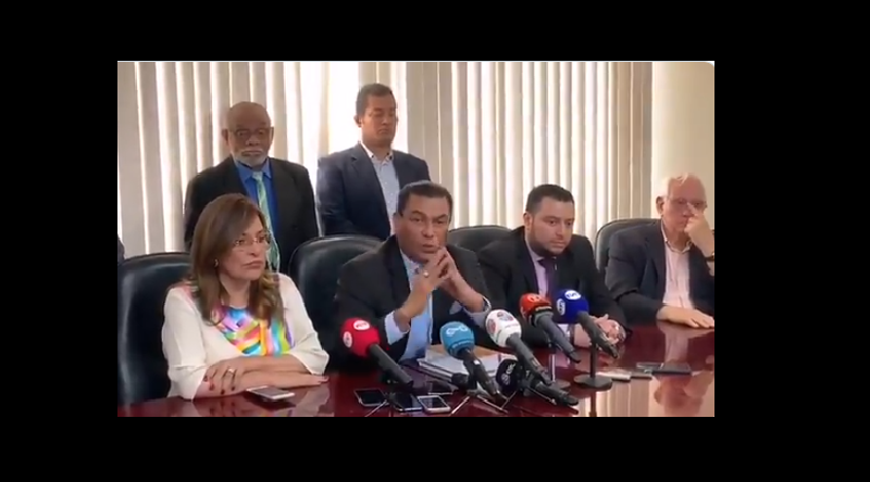 Querellantes afirman que no temen a amenazas de Martinelli