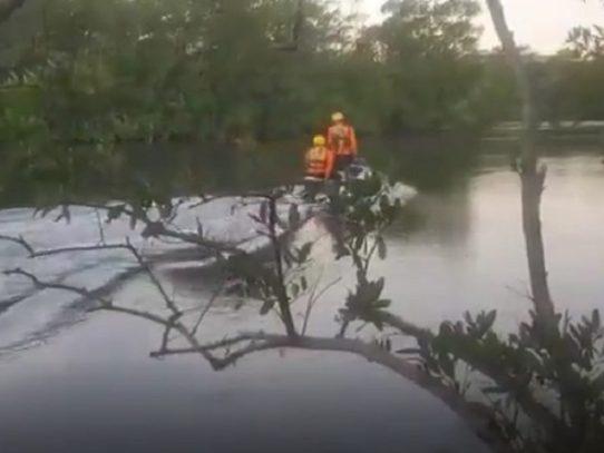 Recuperan dos cuerpos tras naufragio de una embarcación en San Lorenzo, Chiriquí