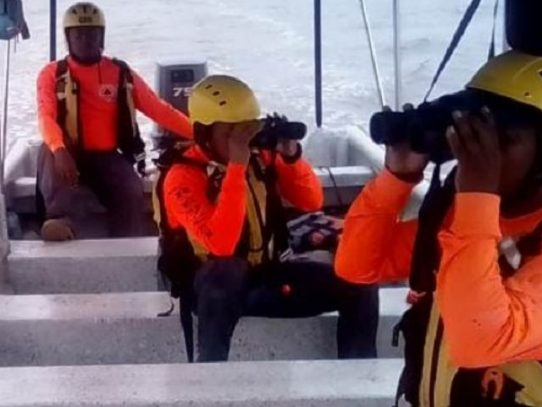 Rescatan a cuatro personas que estaban desaparecidas tras un naugrafio en Chiriquí