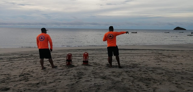 Sinaproc mantiene monitoreo en las playas