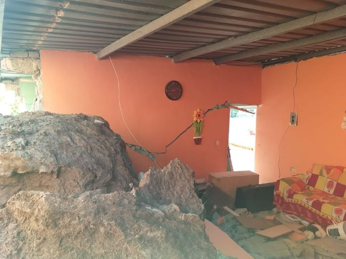 Sinaproc recomienda evaluación más científica por desprendimiento de rocas