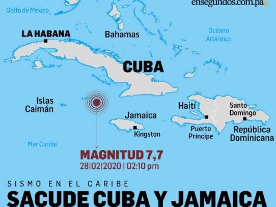 Levantan alerta de tsunami en el Caribe tras sismo