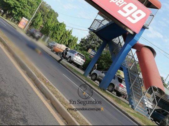 Suicidio,  en Veraguas un hombre se lanzó desde un paso peatonal