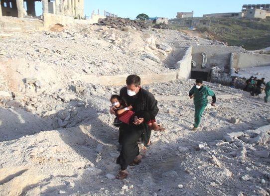 Doce horas, cuatro hospitales sirios bombardeados. Las pruebas señalan a un culpable: Rusia