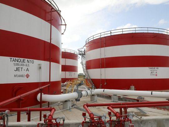 Construcción de tanques de combustible en aeropuerto de Tocumen registra 98% de avance