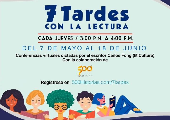 """MiCultura ofrece ciclo de conferencias """"7 Tardes con la Lectura"""""""