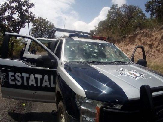 Mueren seis policías en ataque armado en el sur de México
