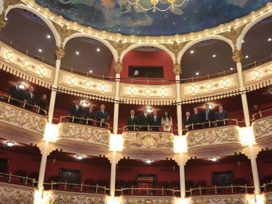 Restauración del Teatro Nacional registra 96% de avance
