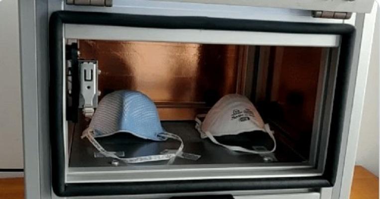 Científicos de Costa Rica desarrollan cámara para desinfectar mascarillas contra Covid-19