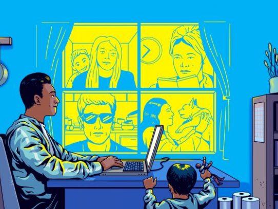 Qué hacer y qué no hacer en las reuniones por cámara web