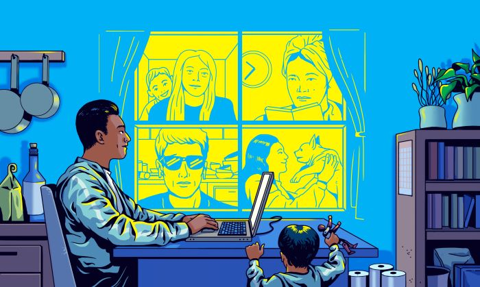 La larga e infeliz historia de trabajar desde casa