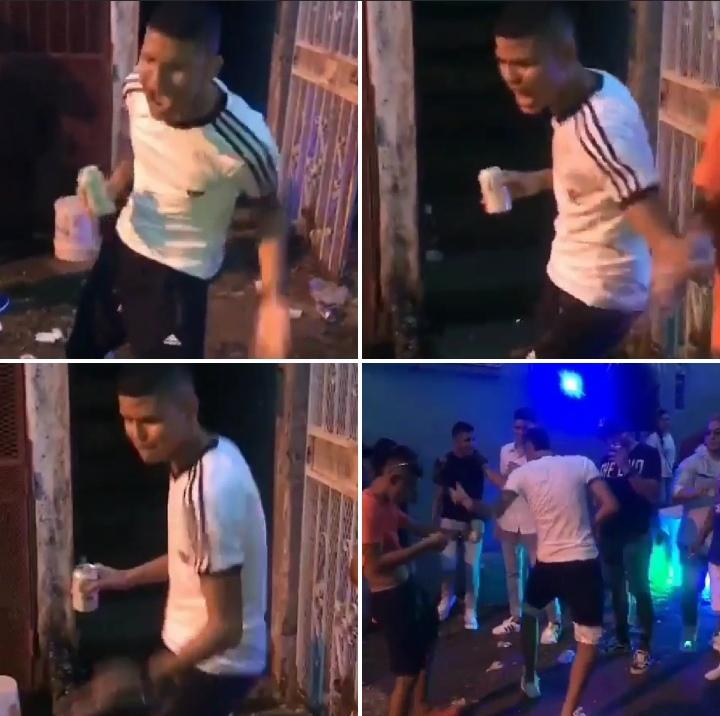 """¡Una burla! El """"toca nalgas"""" aparece en video haciendo baile de cómo tocó a mujeres"""