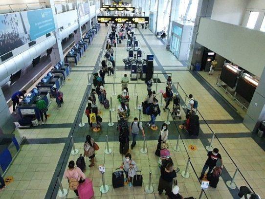 Tráfico de pasajeros por el Aeropuerto de Tocumen registra números rojos