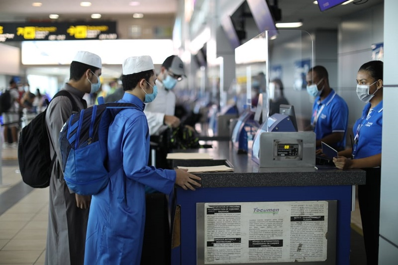 Tocumen pone en marcha nuevo sistema de seguridad para pasajeros en tránsito