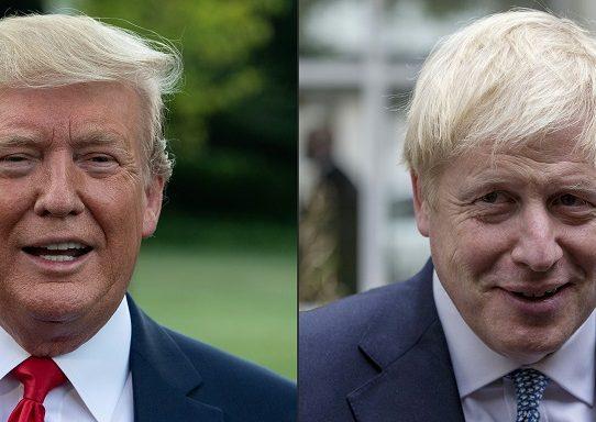 Trump y Johnson hablaron de comercio y redes 5G antes del G7, dice la Casa Blanca
