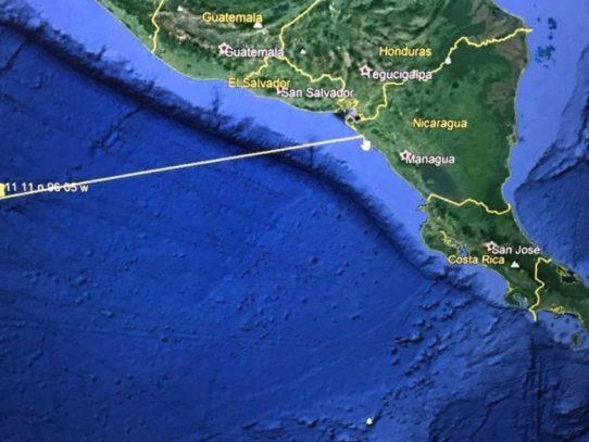 Posible tsunami amenaza costas del Pacífico de El Salvador y Nicaragua