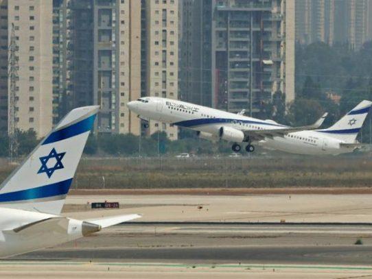 """Despega el """"primer vuelo comercial directo"""" entre Israel y Emiratos"""