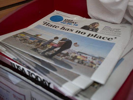 Sede de diario USA Today en Washington evacuada tras reportes de hombre armado