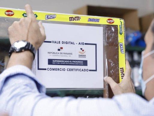Vale Digital y bolsas de comida seguirán llegando a los panameños