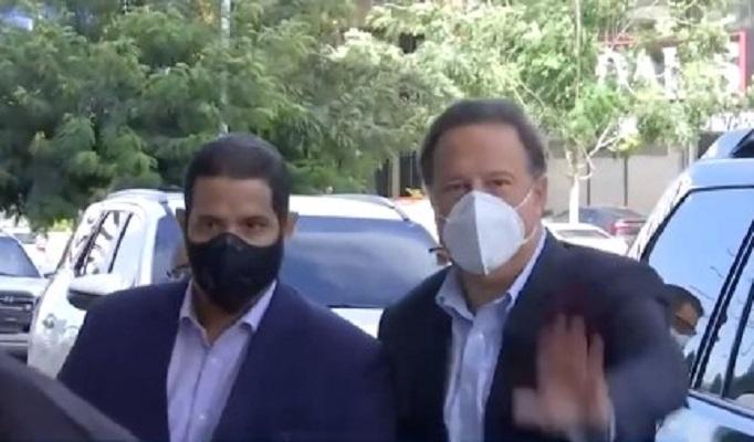 Expresidente Varela rinde cuarta indgatoria por caso de donaciones de Odebrecht
