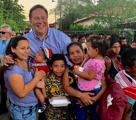 Varela reaparece en Cañazas de Veraguas tras escándalo VarelaLeaks