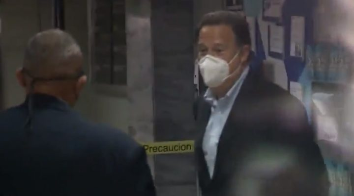Expresidente Varela continuará indagatoria el próximo lunes 20 de julio