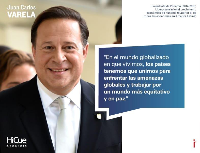 Varela será conferencista sobre desarrollo económico a partir del 1 de julio