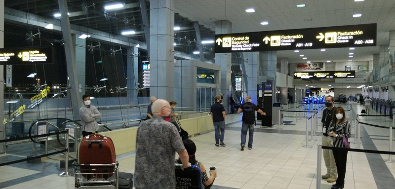 Repatriados 160 estadounidenses desde Panamá
